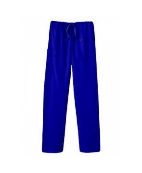 Fundamentals unisex drawstring scrub pants - Royal