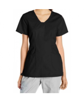 HeartSoul Dreamer v-neck scrub top - Black