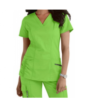 Beyond Scrubs Ellie v-neck scrub top ime
