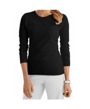 Med Couture long sleeve tee - Black