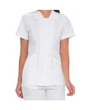 Landau student scrub tunic - White
