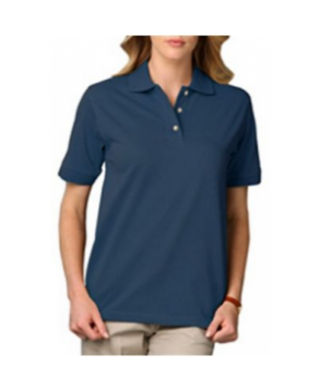 Blue Generation ladies pique polo tee - Teal