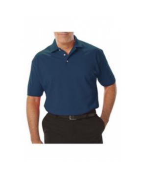 Blue Generation mens pique polo tee - Teal