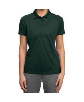 Ladies dri mesh polo - Dark Green