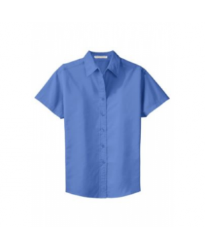 Port Authority Ladies short sleeve Easy Care shirt - Ultramarine Blue