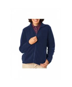 Blue Generation ladies full zip fleece jacket - Navy