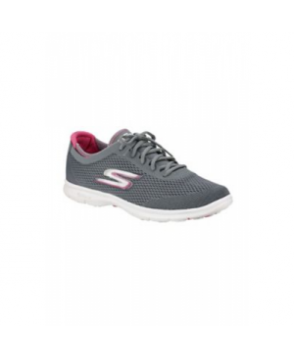 Skechers Go Step Sport athletic shoe - Charcoal/Hot Pink