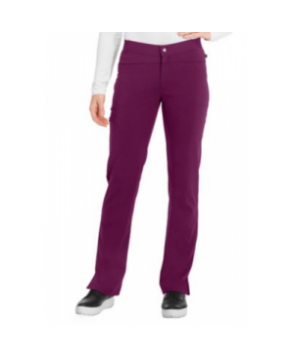 Sapphire zip fly scrub pant with Certainty - Wine