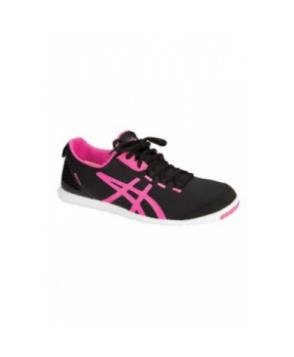 Asics Metrolyte womens athletic shoe - Black/Flash Pink/White