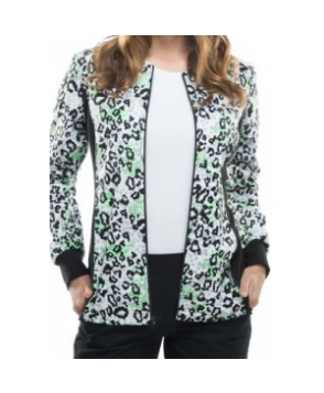 Cherokee Flexibles Go Fur It print jacket - Go Fur It