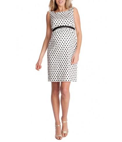 Seraphine Sleeveless Shift Maternity Dress