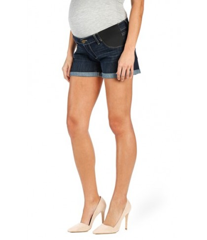 Paige 'Jimmy Jimmy' Cuffed Denim Maternity Shorts
