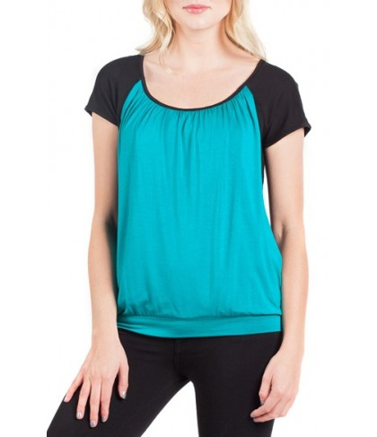 Savi Mom Colorblock Maternity/nursing Tee