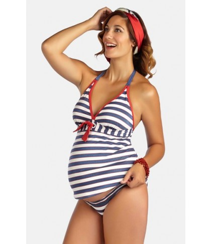 Pez D'Or 'Palm Springs' Two-Piece Maternity Swimsuit