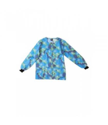 Scrub Wear Butterfly Love print scrub jacket - Butterfly Love - S