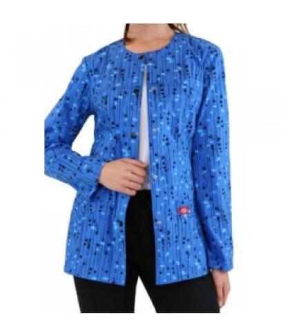 Dickies Gen Flex Kersplat print scrub jacket - Kersplat - M