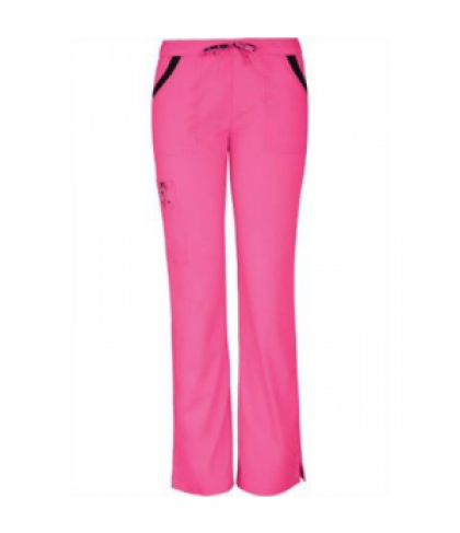 0e53274896b HeartSoul Breast Cancer Awareness Charmed scrub pants - Pink Party - XL