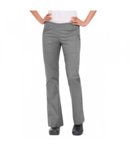 Landau Nirvana stretch drawstring cargo scrub pant - Steel - PS