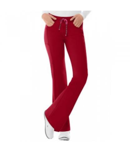 14625f076dd HeartSoul Love Potion drawstring scrub pant - Red - XL