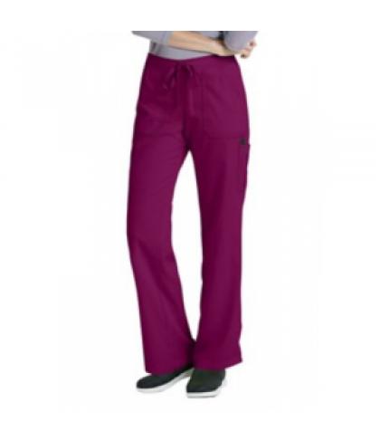 Greys Anatomy drawstring waist 4 pocket cargo scrub pant - Radiance - TS